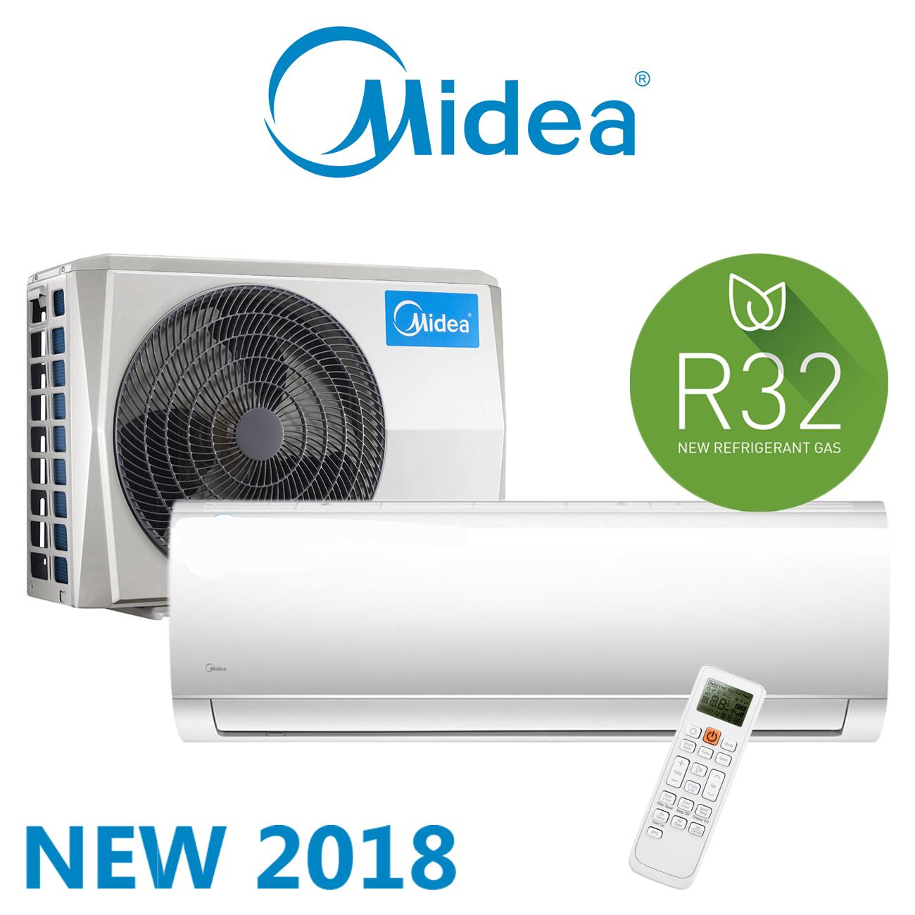 Midea Mod. Smart/Prime 2018 con nuovo gas R32